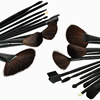 32 Pcs Professional Makeup Eyebrow Shadow Cosmetic Brush Set Kit With Pouch