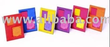 Silk Photo Frames
