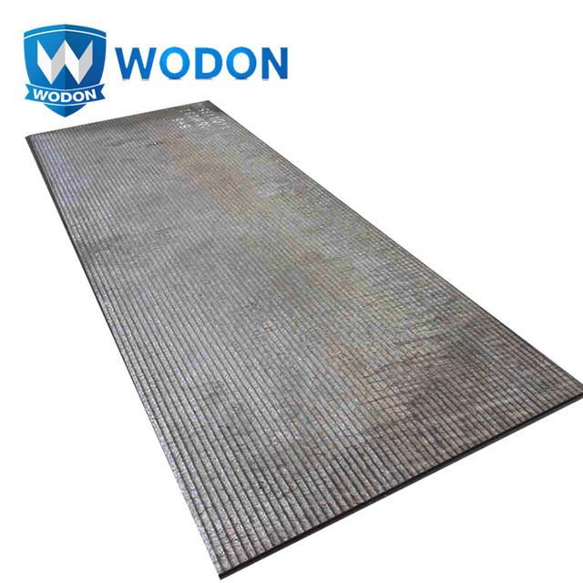 OEM high chromium carbide Cr7C3 abrasion resistant overlay wear plate
