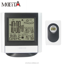 Wall Weather Forecast Clock/Weather Thermometer/Desk Automatic Weather Station Clock