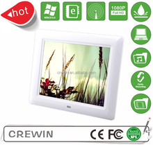 "wholesale manufacturer 8"" inch with wifi sex video free download digital photo frame"