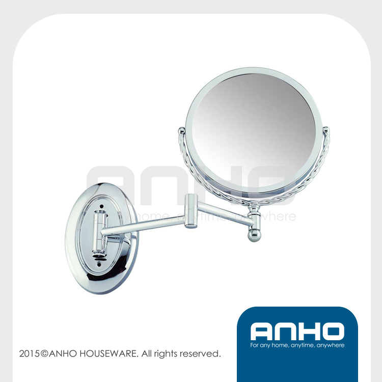 Two-Sided Extension Wall Mount Makeup Mirror,magnifying Cosmetic mirror