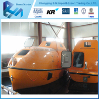 Chinese Fire Protected Totally Enclosed Lifeboat and Rescue Boat Manufacturers