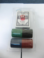 4 8 pcs Cheap poker chip set