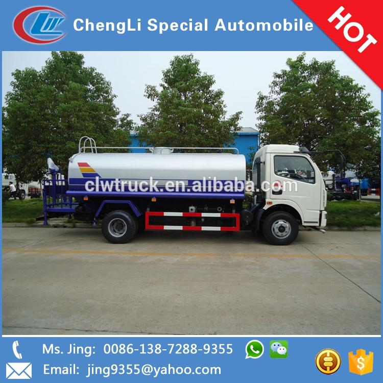 4*2 Sprinkling truck, water tanker, watering car, 6-8CBM, Factory direct sales!
