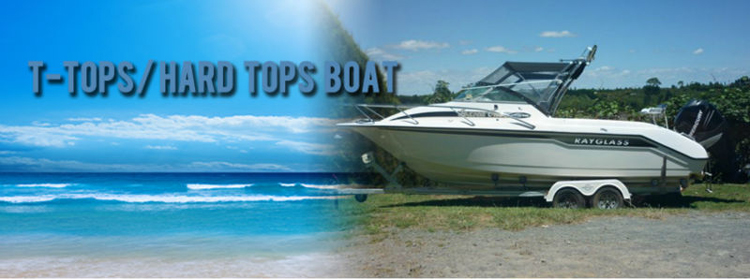 HOMFUL Marine grade fabric Waterproof T Top Boat Cover
