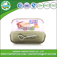 good quality africa canned chicken luncheon meat halal