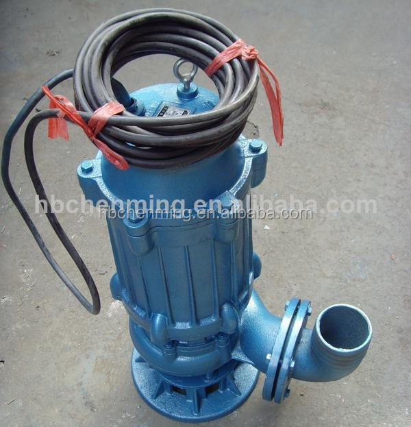 vertical non-clog submersible sewage pump