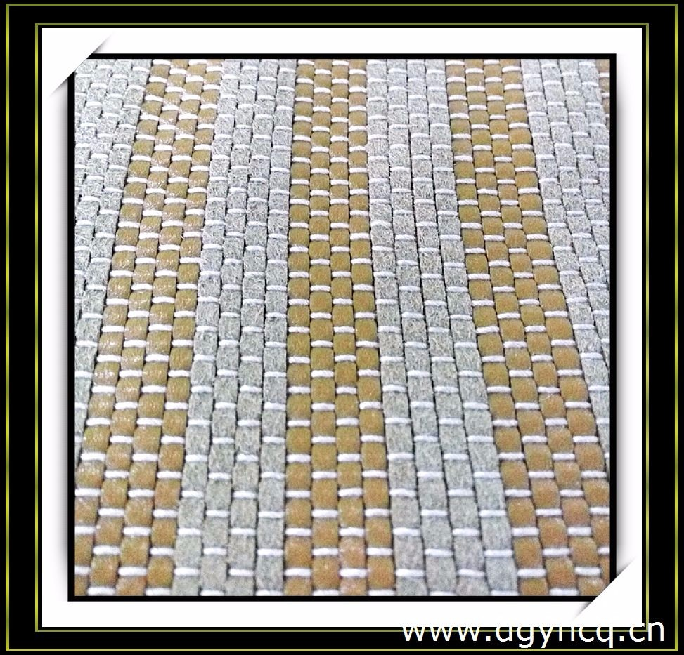 Best-selling colorful synthetic cross woven leather carpets microfiber weave suede leather rugs