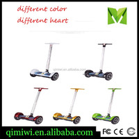 10 inch F1 Self Balance Scooter Electric Skateboard With Handle bar wholesale hoverboard scooter