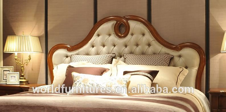 solid wood bedClassic home <strong>furniture</strong> luxury and elegant wood bedroom <strong>furniture</strong>