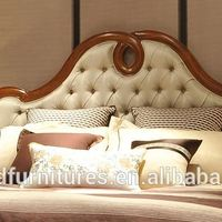 Solid Wood BedClassic Home Furniture Luxury
