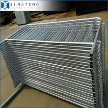 Galvanized Crowd Control Barriers Portable Removable Pool Fence