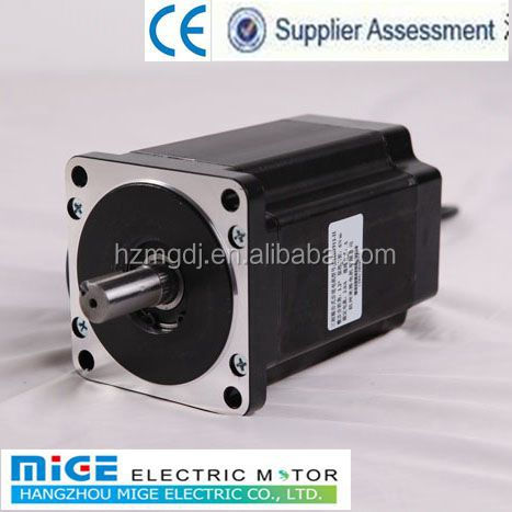 Three phase stepping motors