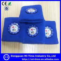 Wholesale promotional sweet Despicable Me 2014 design cotton blue watch