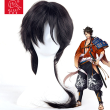 Halloween Party Hair Wig Synthetic Ponytail Cosplay Wig