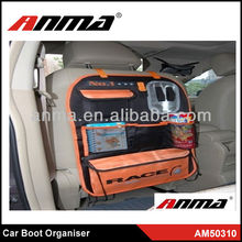 New design car seat back fancy storage boxes