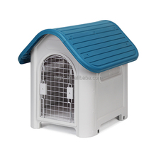 Soft new design low price pet products outdoor plastic dog cute house