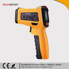 Color Display Digital Non contact Gun Type Huamn Body Infrared Thermometer and Industrial Thermometer PM6530F