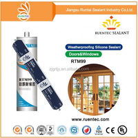 OPT316W White Waterproof Potting Silicone Sealant for Electronics Components