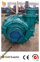 Industrial mining rubber lined ah slurry pump made in china
