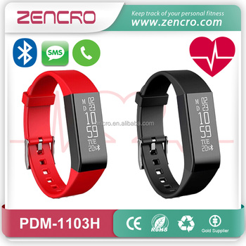 Zencro Top Selling Fitbit Alta Bluetooth Veryfit Smart Wristband Bracelet Heart Rate Monitor