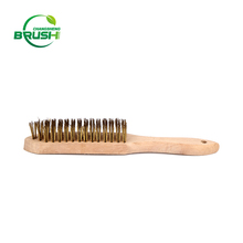 Hard and firm Stainless Steel wire wheel brush for Machine rust cleaning