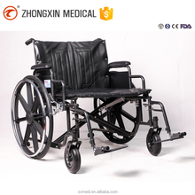 Widely wheels Steel wheelchairs