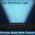 hot sale exterior wall light solar billboad light with CE certificate