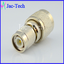 China Supplier,RFconnector,N plug to TNC jack Brass material coaxial connector