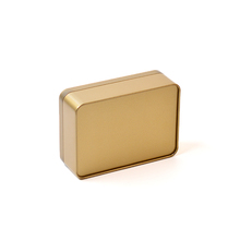 Multi-color high quality plain tin containers tin box partners rectangular tin box suppliers for wholesale