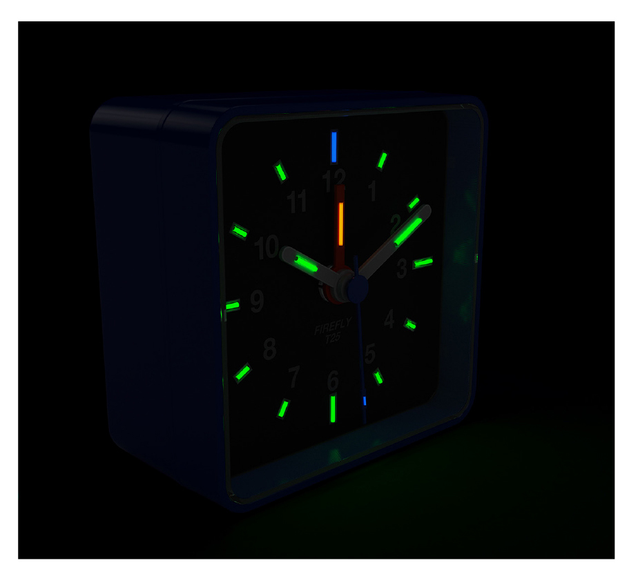 T25 illuminated alarm clock
