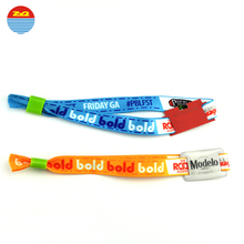 NFC Ultralight/Ntag213 Fabric Wristbands With Plastic Slide buckle