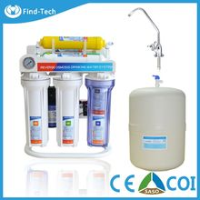 ro water purifier without electricity 6 stage RO system drinking alkaline water filter treatment plant price
