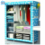 Closet Storage Organizer with storage box easy assemble folding shoe rack