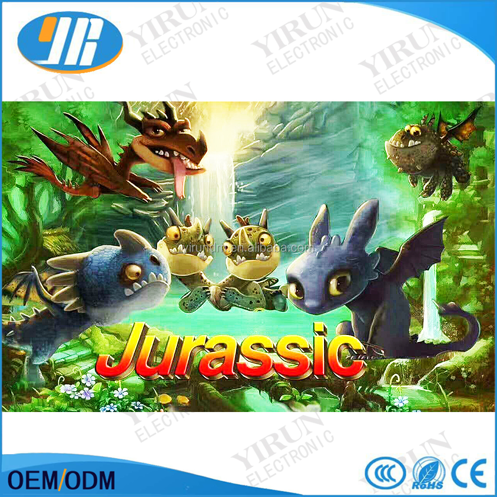 List manufacturers of jurassic park arcade machine buy for Arcade fish shooting games