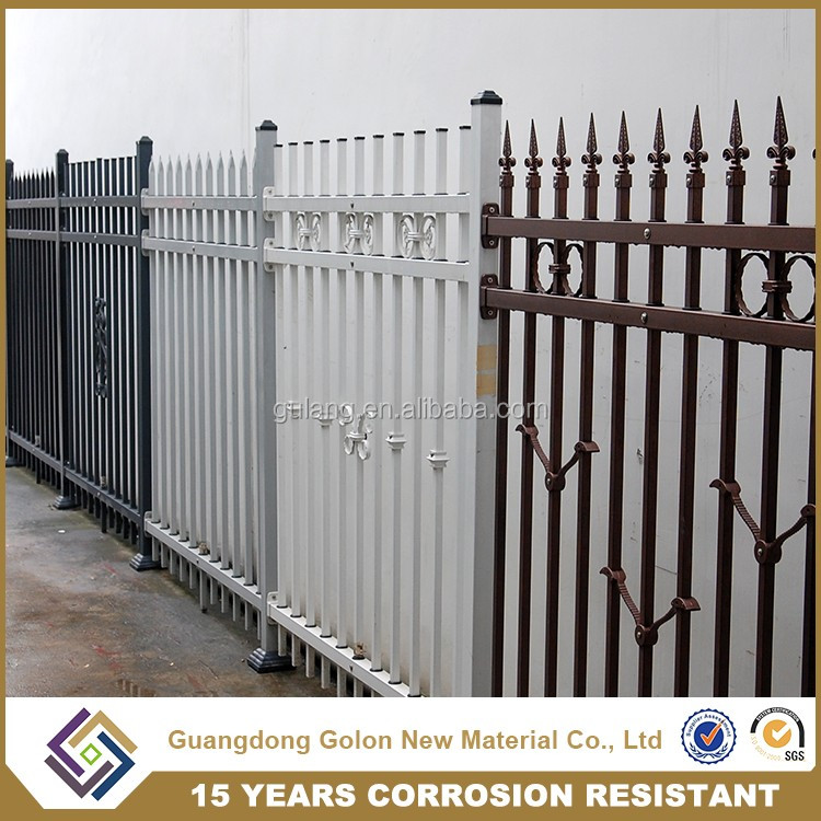 Euro Style Free Standing Metal Fence Panles