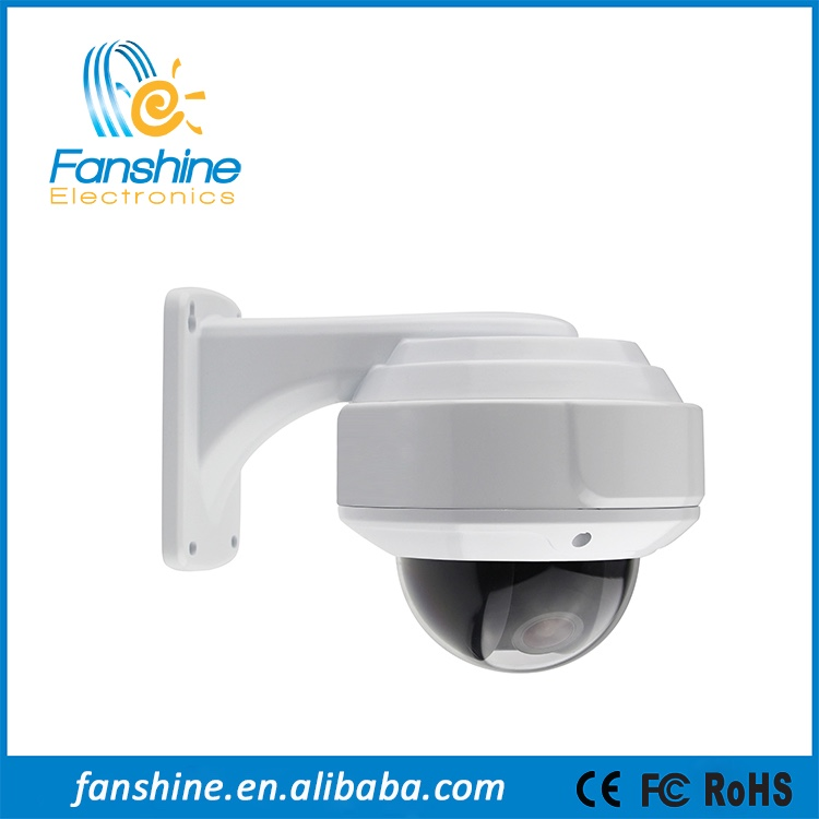 2.4 Megapixel HD Video 3DNR Vandalproof AHD Hikvision CCTV Camera With IR CUT