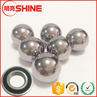 Oversized Hard Steel Ball 66HRC Chrome Bearing Ball 2.5 Inch Stainless Steel Ball For Bearings