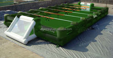 Perfect choice Amusement park team working Inflatable kicker football table