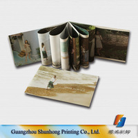 Cheap price high quality full color printing art paper brochure booklet and magazine printing book printing