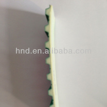 50T20 Tooth surface+green cloth PU timing belt