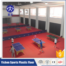 Cheap Price 4.5mm Thickness PVC Sports Flooring Use For Table Tennis Court