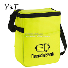 non woven shoulder strap durable deluxe insulated lunch cooler bag(YT-CB0095)