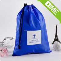 New Design China Supplier Wholesale Drawstring Bag with Front Zipper