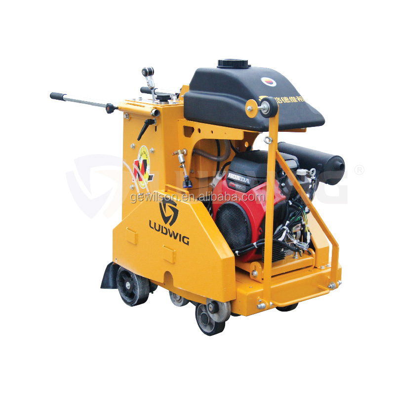 Gravity fed asphalt Concrete Floor Saw cutting machine with control panel