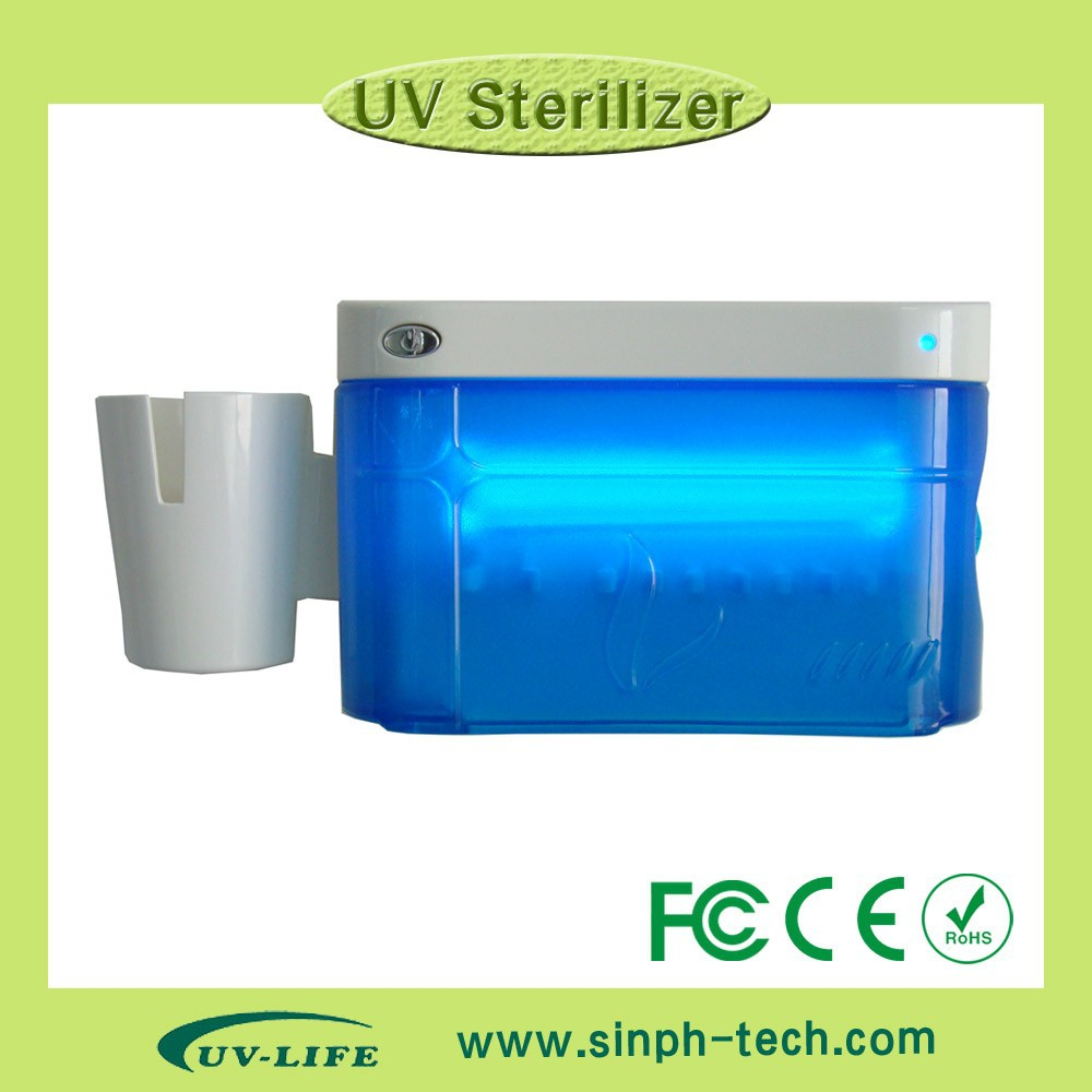 New model wall-hung type UV toothbrush box sanitizer/sterilizers/disinfectors
