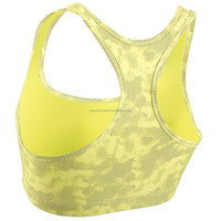 Hot Sale Ladies Crop Tops Workout Clothing Sports Bra Yoga Wear Functional Tops