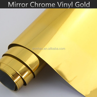UK EU Standard 1.52*20M Stretchable Mirror Chrome 3M Car Foil