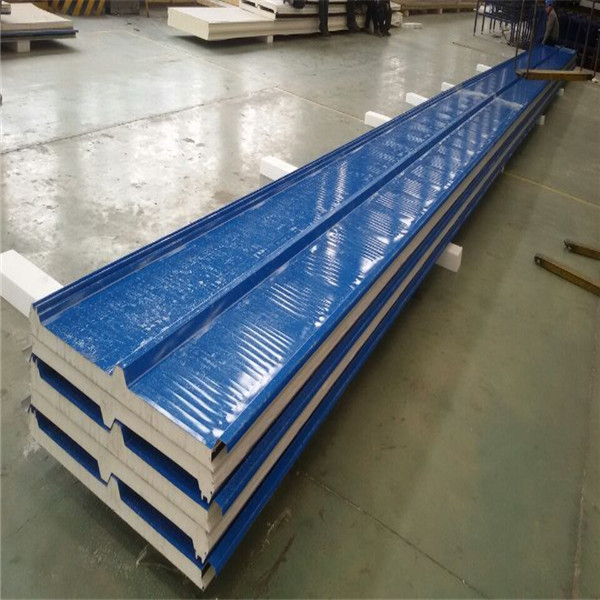Insulated Composite Panels Used PU Sandwich Roof Panel 30mm